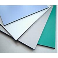 Wholesale 3003 Series Dupont Polymer Adhesive Silver Color 5mm Aluminum Exterior Commercial Building Wall Panels from china suppliers