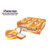 Wholesale Classic Square Tin Box Candy Sour Sweets Sugar Free Mints Orange Flavor from china suppliers