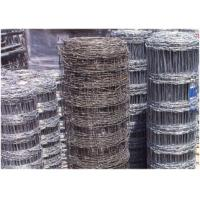 Wholesale Flexible Agricultural Cattle Wire Fencing 12.5 Gauge Corrosion Resistance from china suppliers