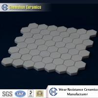 China Manufacturer Supplied Alumina Ceramic Hexagonal Sheet as Wear Resistant Liners