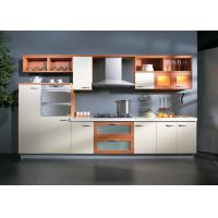 Wholesale Assembled UV Kitchen Cabinet With Wall Mounted Cupboards And Range Hood from china suppliers