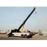 Wholesale Heavy Duty Wrecker Tow Truck 8x4 12 Wheels 371hp 50tons 50T For Road Rescue from china suppliers