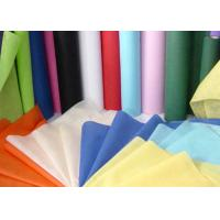 Wholesale Needle Punched Geotextile / Non Woven Geotextile Fabric in Blue , Pink , Yellow from china suppliers