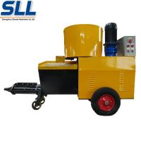 China High Pressure Cement Mortar Spraying Machine Screw Type Customized Color on sale