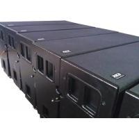 Wholesale Empty line array enclosure box speaker with rigging accessories grilles horns hanging pins with black finish from china suppliers