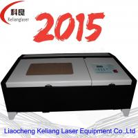 Wholesale Mini high precision good price CO2 320 laser engraving/cutting machine 40w from china suppliers