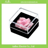 Quality Cheap price Poly Styrene PS material high transparent clear plastic storage box with cover for sale