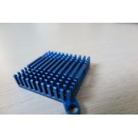 Buy cheap Blue Anodized Cold Forge CNC Machining Aluminium Heat Sink Profiles for Cooling System from wholesalers