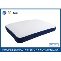 Wholesale Bread Shaped Cool Silica Gel Memory Foam Pillow With Piping Zippered Cover from china suppliers