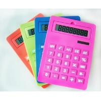 Wholesale 8-bit digital multi-scale calculator portable Solar calculator silica gel soft keyboard from china suppliers