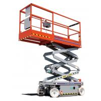Wholesale Self - propelled aerial work platform Self - locking with 500kg Rated load from china suppliers