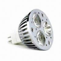Wholesale 300lm 3 x 3W MR16 LED Bulb, Suitable for Supermarkets, Hotels, Exhibitions and Residential from china suppliers