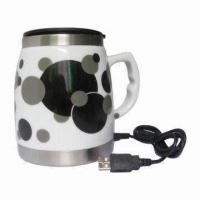Wholesale Promotional USB Travel Mug Warmer, Easy Installation, No Driver Required, Various Designs Available from china suppliers