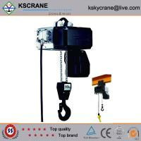 Wholesale Attractive and reasonable price Low Clearance Double Speed Electric Chain Hoist from china suppliers