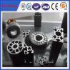 Buy cheap Custom size aluminum extrusion, hot anodized aluminum profile extrusion round heatsink from wholesalers
