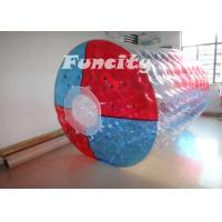 Wholesale Kids / Adults Inflatable Water Roller , Colorful PVC TPU Inflatable Rolling Ball from china suppliers