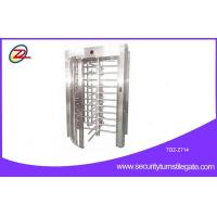 Wholesale High safety full height turnstile barrier gate with fingerprint Function from china suppliers