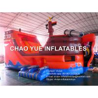 Wholesale Easy Install Commercial Inflatable Slide Flame Resistant Pirate Ship Inflatable Toys from china suppliers