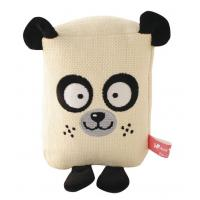 Quality X'mas Gift For Pet Linen Animal Series Dog Toys With Squeaker Washable Eco-friendly for sale