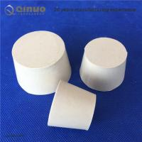 Solid White Laboratory Rubber Plug Stopper Bungs for Flask and Tapered Tube