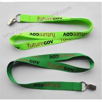 sublimation key lanyard with alligator clip