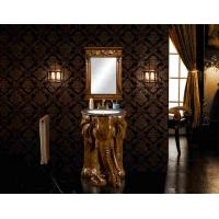 Wholesale Villa Living Room European Antique Resin Bathroom Vanity Cabinet With Mirror from china suppliers