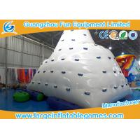 Wholesale Rave Sports Inflatable Water Park Games Iceberg Floating Climbing Wall For Outdoor from china suppliers