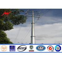 Buy cheap ASTM A572 Galvanized Electrical Steel Tubular Pole For Power Transmission Line from wholesalers