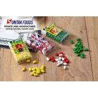 Wholesale Full Color Print Sticker Kiwi Sugar Coated Candy With Green Color Dot Sweets Confectionery Box from china suppliers