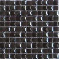 Wholesale Black Glazed Ceramic Mosaic Tiles Wallpaper for Bathroom 303x303mm from china suppliers