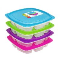 Wholesale Plastic bento box with lid from china suppliers
