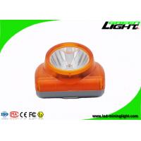 Buy cheap 13000lux LED mining light IP 68 water -proof grade with USB charging from wholesalers