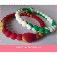 China mixed color power balance silicone bracelet on sale