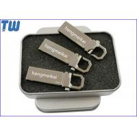 Wholesale Solid Stainless Metal Buckle Pen Drives 32GB Storage for Business from china suppliers