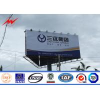 Wholesale 10mm Commercial Digital Steel structure Outdoor Billboard Advertising P16 With LED Screen from china suppliers