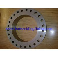 Wholesale Steet Flanges, Duplex Material, A182 F51 A182 F60 F53 (UNS S32750) B16.5 from china suppliers