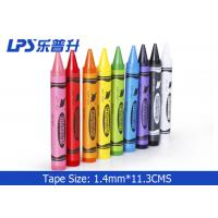 Wholesale Nontoxic United Office Gel Wax Crayons 12 Colors Round Regular Crayons from china suppliers