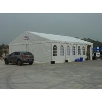 Wholesale Heavy Duty Marquee Tent With Ridge Roof Top , Food Festival Tent White For Events from china suppliers