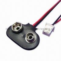 Wholesale OEM/ODM Battery Snaps and Wire Assembly, Suitable for Battery Holders from china suppliers