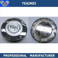 Quality Colored Crest 200mm Chrome Cadillac Escalade Alloy Auto Wheel Center Caps for sale