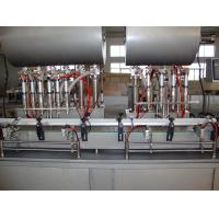 Wholesale Pneaumatic Driven Piston Hot Filling Machine for Honey , Tomato Paste , Butter from china suppliers