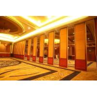 Wholesale Hanging System Acoustic Room Dividers for Hotel with Single or double roller from china suppliers