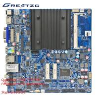 Wholesale Fan Less Mini ITX Motherboard , Quad Core Mainboard With DC 12V Intel from china suppliers