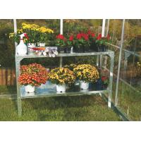 Wholesale Durable Metal Flower Shelf / Flower Display Stand With Aluminum Frame 115x40x80 mm from china suppliers