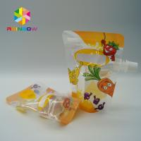 Wholesale Eco - Friendly Stand Up Spout Pouch Plastic Pouches Packaging With Ziplock from china suppliers
