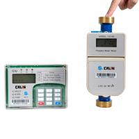 Buy cheap Long Battery Lifespan Dry Dial Type Prepaid Water Meter ,  Brass / Plastic Meter Body on Request from wholesalers