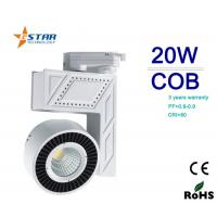 Wholesale 24DEG 20 Watt COB Led Track Light 90Lm/W Cool White For Commercial lighting from china suppliers