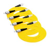 Wholesale Lc To Lc Single Mode Optical Fiber Patch Cord 3m / 5m Standard Length from china suppliers