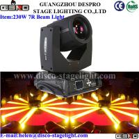 Wholesale Touch Screen 230W 7R Beam Light Moving Head With DMX from china suppliers