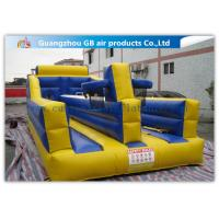 Wholesale Exciting Child Bungee Run Inflatable Sports Games With Basketball Hoop from china suppliers